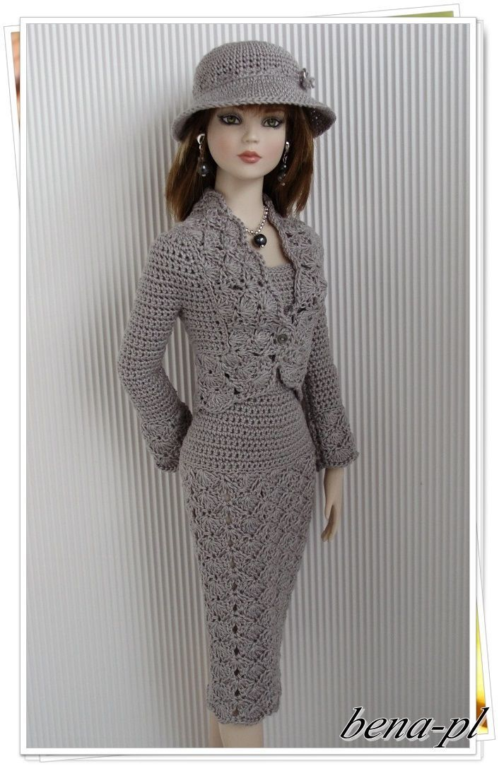 "Bena PL Clothes for Tonner Tyler Nu Mood Fashion Body Dolls 16"" OOAK Outfit…"