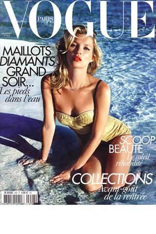 French Vogue Cover June/July  KateMoss