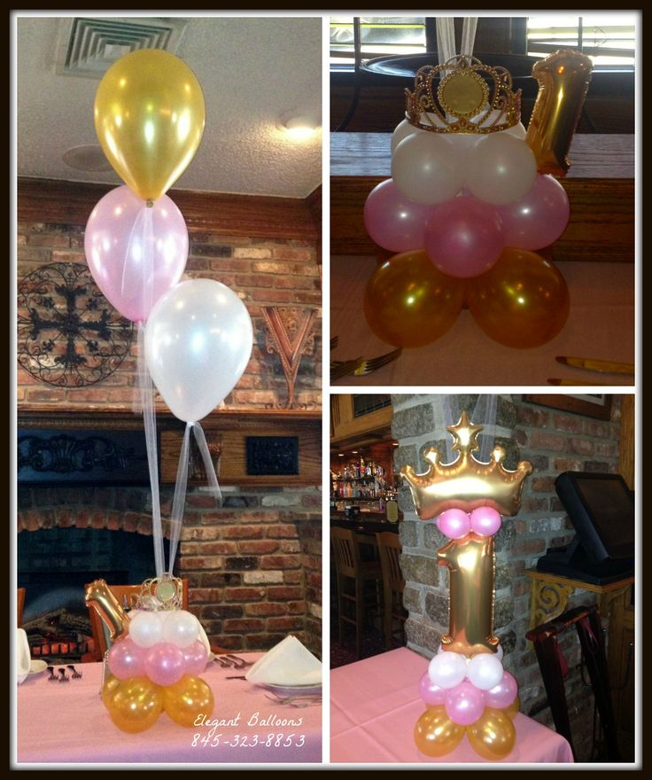 princess themed balloons by Elegant Balloons The