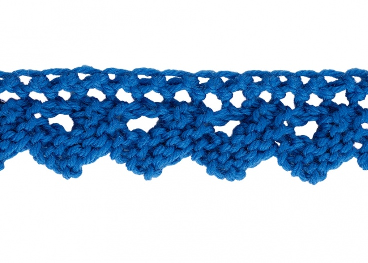 Zig Zag Stitch Loom Knitting : Best strikkede pyntekanter images on pinterest