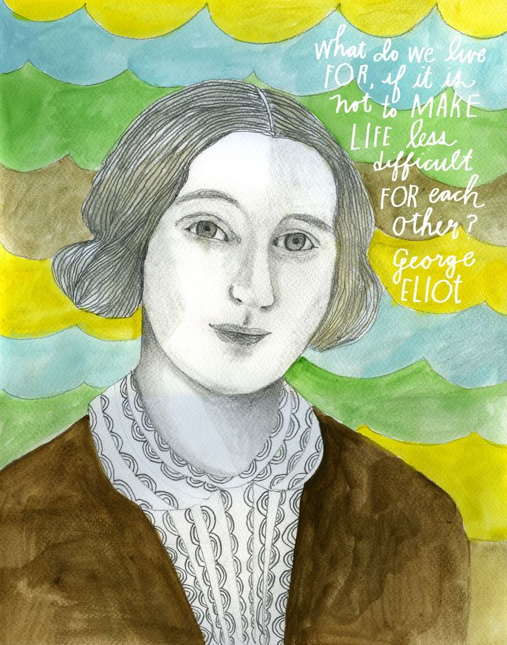 It was under the male pseudonym George Eliot that Mary Anne Evans (November 22, 1819 – December 22, 1880) became one of the most revered voices in literary history – a choice dictated as much by the biases of the Victorian era, in which women writers...
