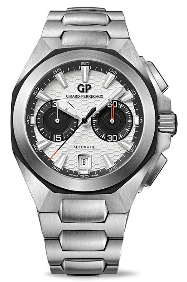 Girard-Perregaux Chrono Hawk Watches Now With Steel Bracelet