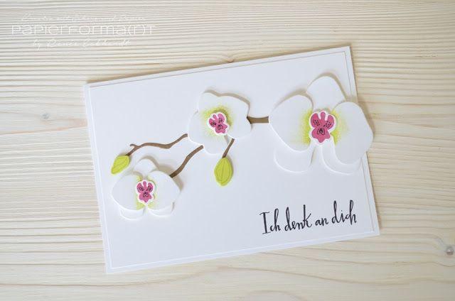 #papierformart - Orchideenzweig von Stampin' Up!