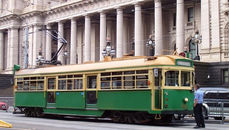Tramway à Melbourne.