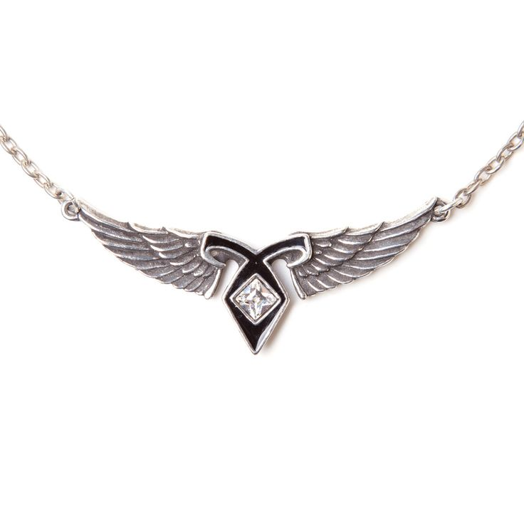 what is the symbol in mortal instruments | Collier The Mortal Instruments Rune Ailée Le Pouvoir de L'Ange