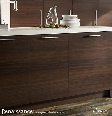Dacor RDW24I 24 Built-In Fully Integrated Dishwasher in Panel Ready