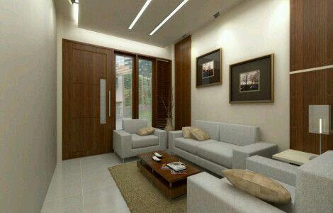 Ruang tamu Simpel, minimalis, bersih, dan rapih