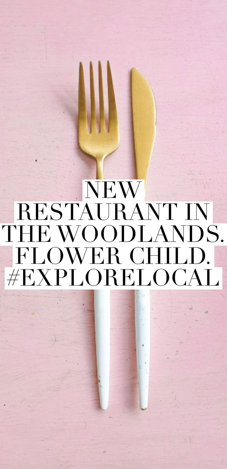Explore Local Restaurants in the woodlands, Flower child