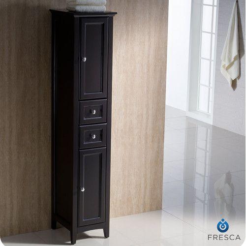 Best 25 bathroom linen cabinet ideas on pinterest - Free standing linen cabinets for bathroom ...