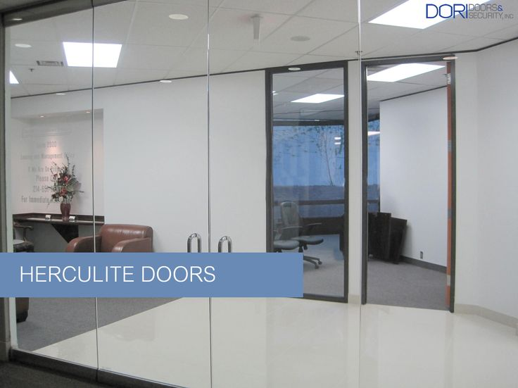 A Door Of Heroic Proportions: Herculite Door: The Door Is An Important  Element Of