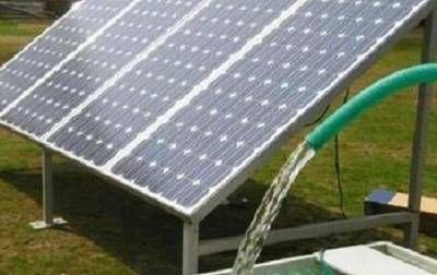BOMBEAMENTO DE ÁGUA MOVIDO À ENERGIA SOLAR
