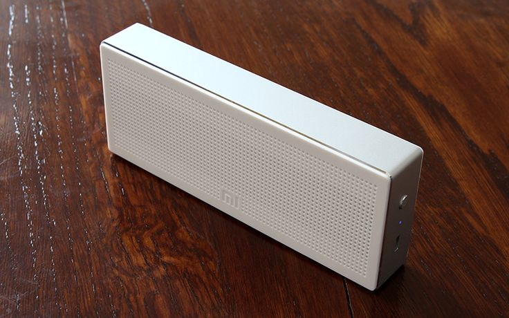 New Wireless Speaker by Xiaomi - The Mobile Tech Giant's new portable wireless speaker that looks retro and modern at the same time. It is design with a white ABS plastic grille and aluminum chassis. | For more pins on Beautifully-designed Portable Speakers, follow Best Buy Portable Speakers (www.pinterest.com/bestbuyspeakers/)