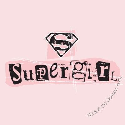 supergirl logo ransom note round stickers by supergirl picture on ...