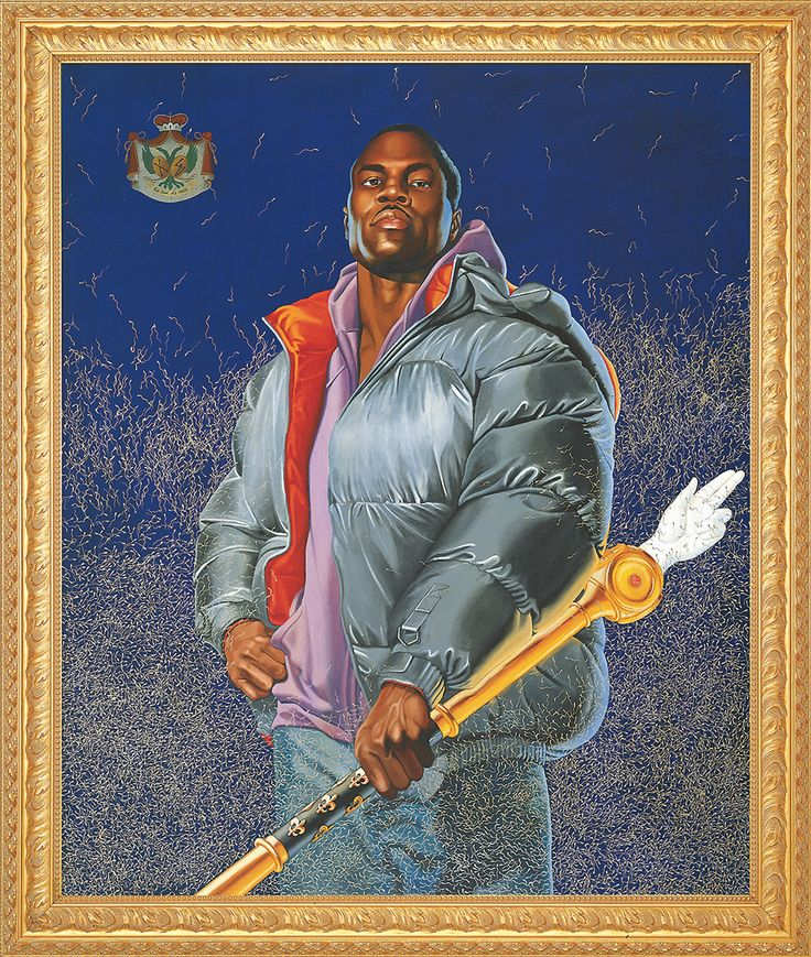 Kehinde Wiley, Alexander the Great (Variation), 2005, Oil and enamel on canvas