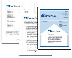 Proposal Pack Real Estate #1 - Editable and customizable templates in this design theme with a library of sample proposals and Wizard software to get you started right away writing any kind of proposal, quote, report or other business document. Hundreds of other designs also available only from ProposalKit.com (come over, learn more and Like our Facebook page to get a 20% discount)