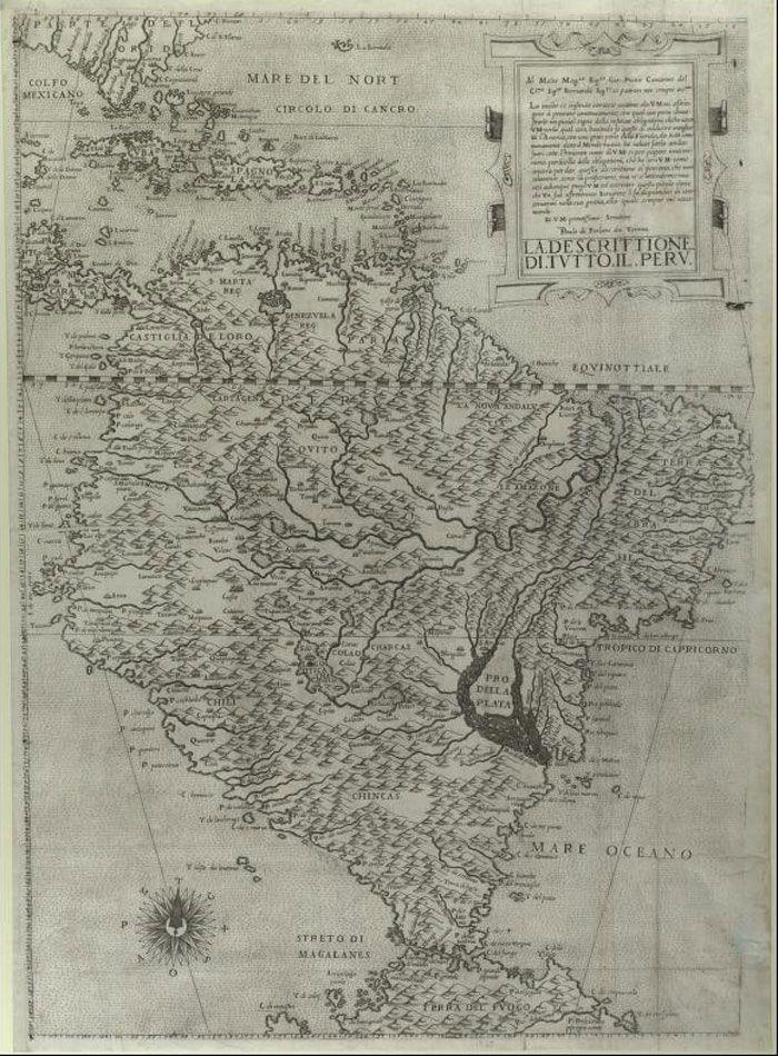 Dawne Mapy - stare mapy, antyki, kolekcja map, historia kartografii