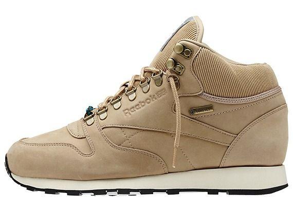 reebok mens classic leather mid sneaker black