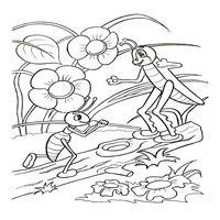Раскраски по мотивам сказки Теремок - вдруг из маминой из спальни
