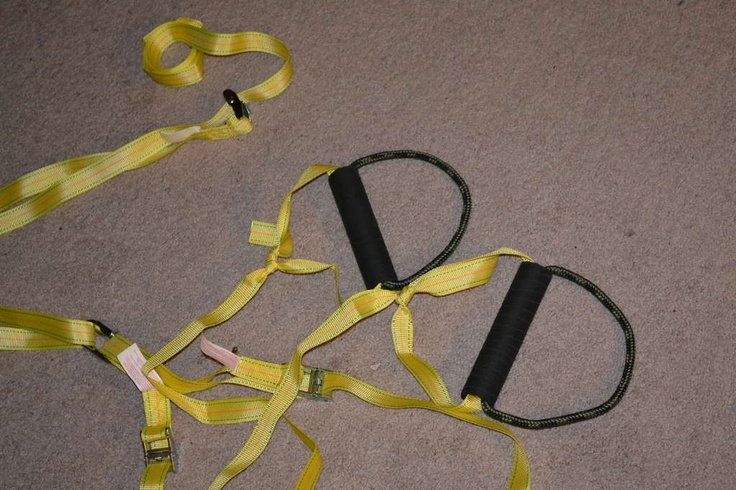 Another (better) do it yourself TRX strap