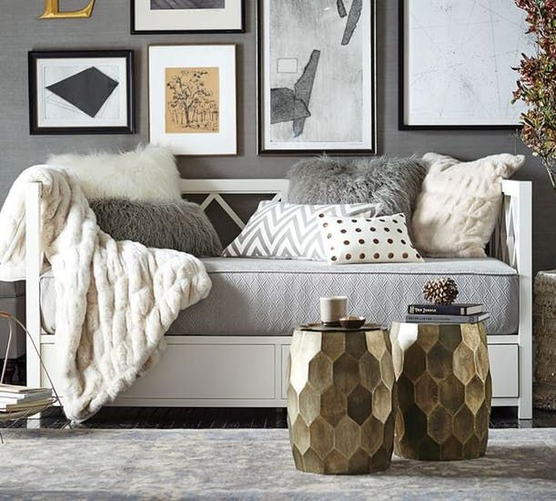 12 Daybeds That Are Proof You Don T Need A Sofa In Your Living Room Daybed In Living Room Bed In Living Room Daybed Decorating Ideas