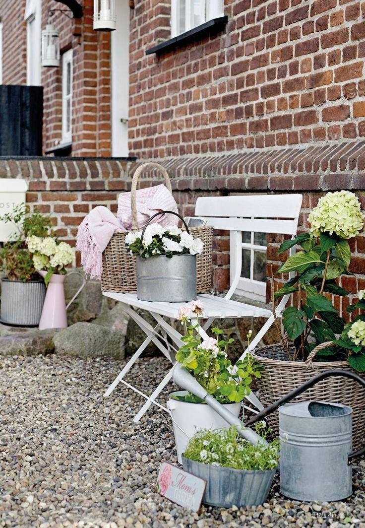 die besten 17 bilder zu garten auf pinterest g rten river rock terrasse und eisenbahnschwellen. Black Bedroom Furniture Sets. Home Design Ideas