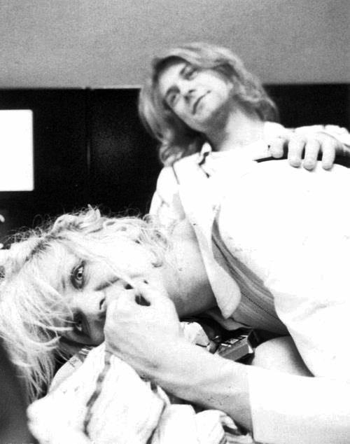 Kurt Cobain and Courtney Love (but, she probably hate him murdered..)