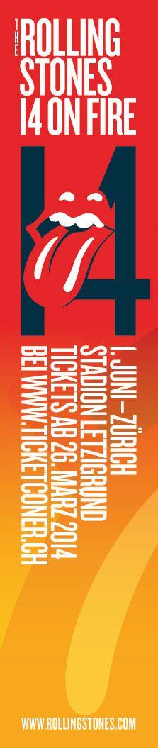 The Rolling Stones 14 on Fire - Member Priority Sale 25.03.2014, 8-16h. Vorverkauf: 26.03.2014. Hol dir dein Ticket auf : https://secure.ticketcorner.ch/tickets.html?affiliate=PTT und registriere dich für den Ticketalarm. #rollingstones #14onfire #live #concert #ticketcorner