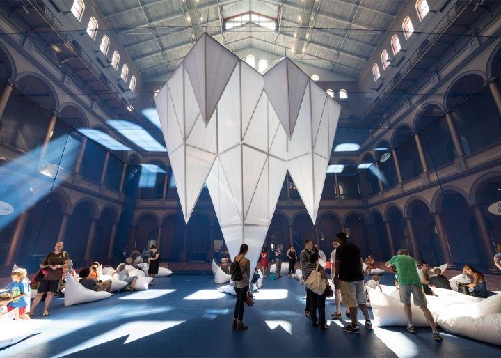 Icebergs installation by James Corner Field Operations, Washington DC » Retail Design Blog