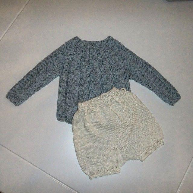 Snoningstrøje, uten knapper vel å merke og en shorts perfekt til både jente og…