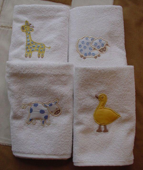 Blancos para bebes y niños - Toallas http://www.cianlinens.com/ México D.F.