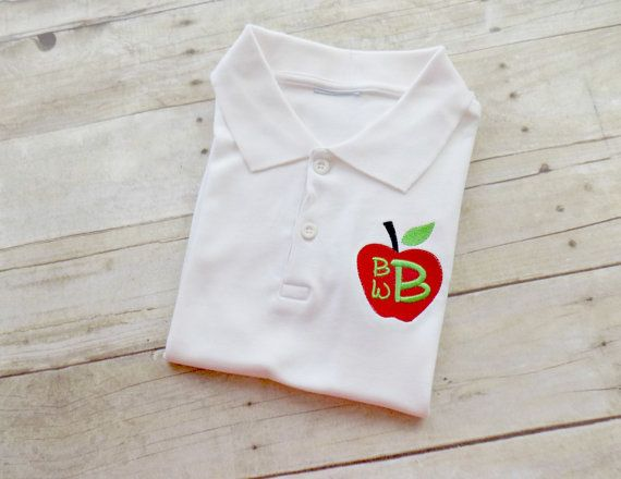 181 best kolt 39 s closet images on pinterest embroidery for Personalized polo shirts for toddlers