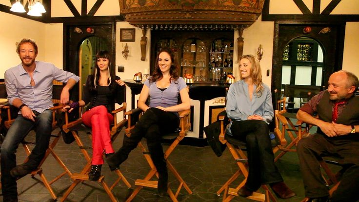 On set with the cast of 'Lost Girl' season 3: Part 1