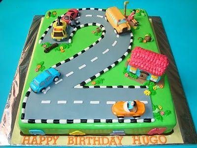 Image result for transportation birthday cake