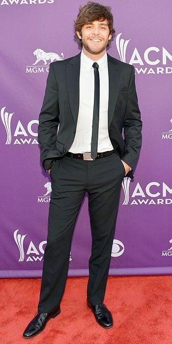 Thomas Rhett--ACM Awards '13 Amber Lehman Styling