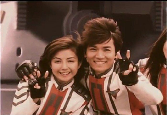 Rena Yasane and Daigo Madoka In Ultraman Tiga