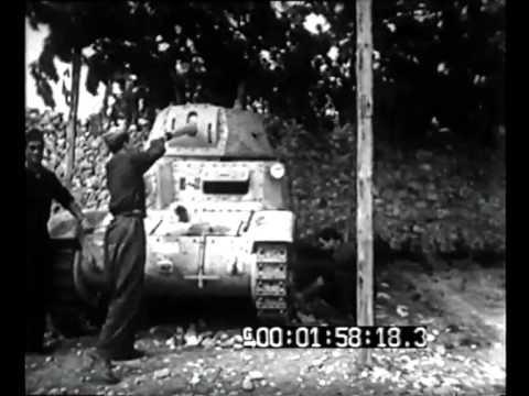Slovenia - Lo squadrone carri armati 'S. Giusto' che dall'8 settembre