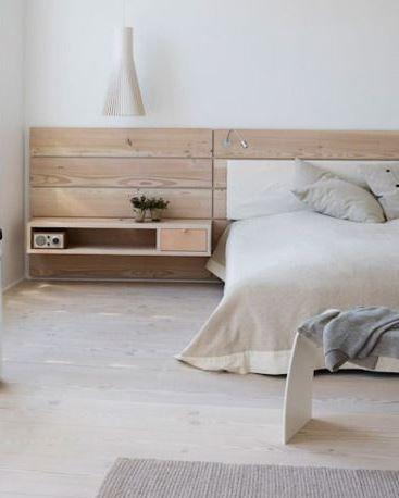 Timber Headboard Bedrooms Pinterest