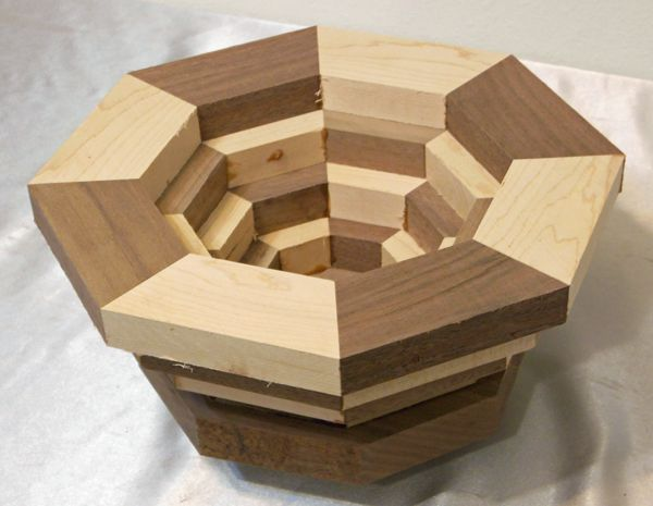 MTM Custom Woodworks - Segmented Bowl Blanks