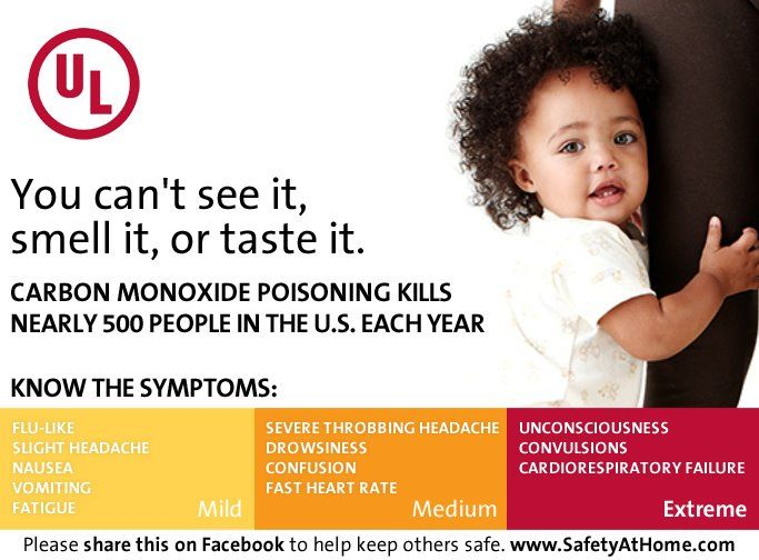 Learn more CO and child safety information at www.SafetyAtHome.com