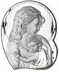 Srebrny obrazek Matka Boska z dzieciatkiem www.pasazhandlowy.eu