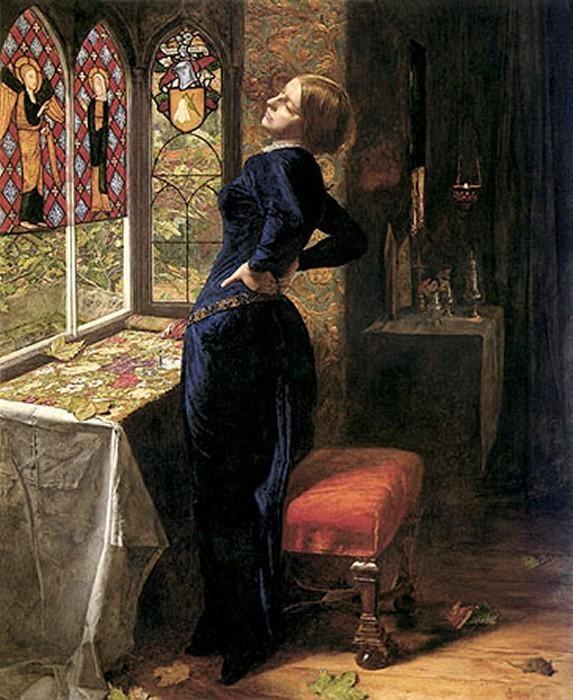 Sir John Everett Millais - Mariana (1851)
