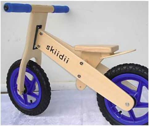Wooden Balance Bike - Just in Time for Christmas