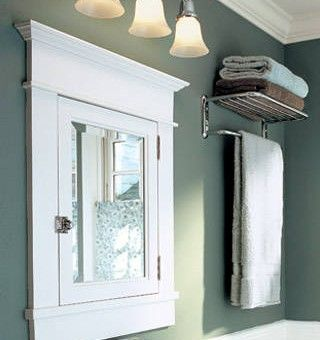 Bathroom Mirrors That Stick Out Can Be An Eyesore Learn How To Tighten Up The Look Of Your With A Recessed Medicine Cabinet