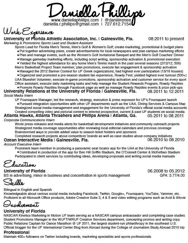 Resume love Daniella Phillipsu0027 Resume Woman at Work Pinterest - media relation manager resume