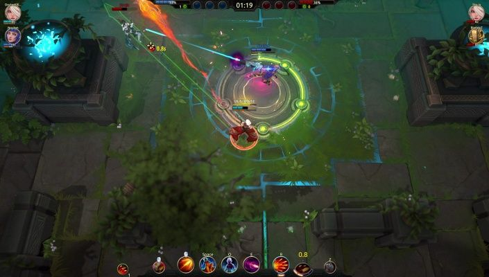 Battlerite is a Free to play Action Arena Brawler, Multiplayer Game featuring unique combination of top-down shooter and fast-paced fighting game