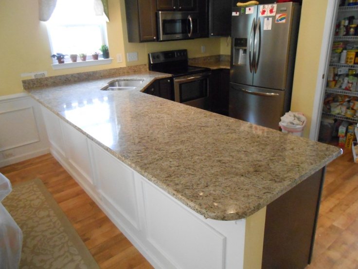 17 best images about giallo ornamental on dark cabinets on For1 Inch Granite Countertops