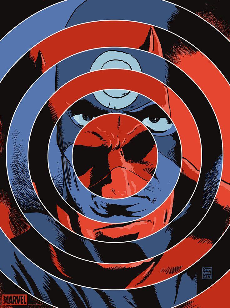 Daredevil / Bullseye by Francesco Francavilla