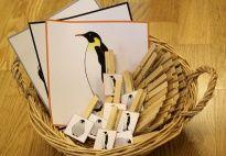 Penguen Oyunu -Mandal resimli kartlar