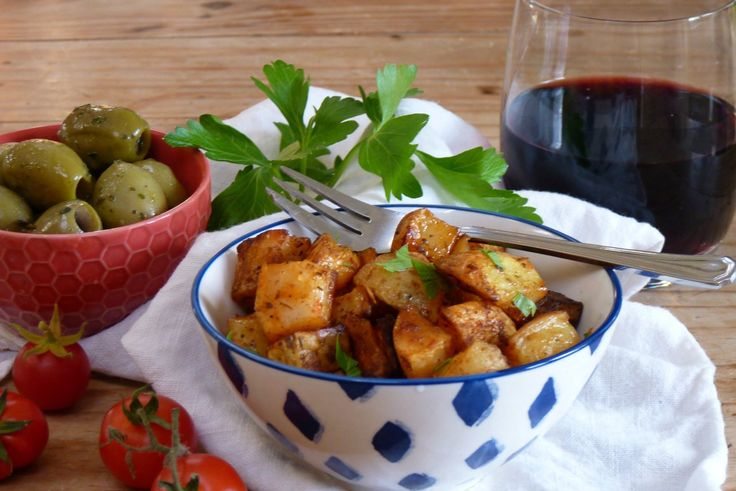 spicy smokey spanish potatoes