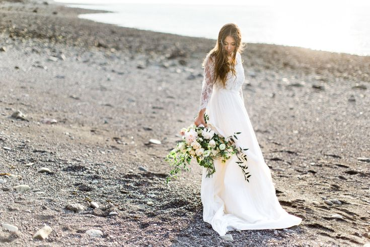 Beauty & The Bay of Fundy - halifax wedding photographer, Bridal headpiece, bries, weddings, flower crown, bridal hair, bridal make up, ocean wedding, beach wedding, floral design, bridal bouquet